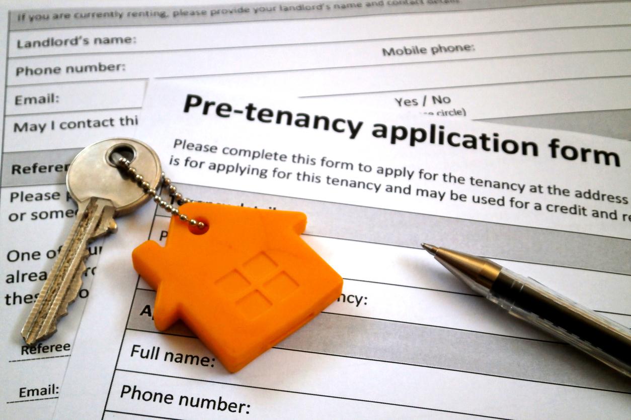 drop pre tenancy application for landlord